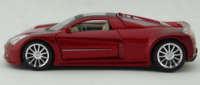 โมเดลรถ โมเดลรถยนต์ โมเดลรถเหล็ก Chrysler M3 แดง 3