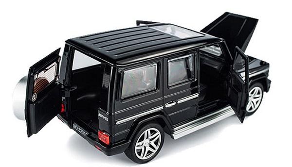 โมเดลรถเหล็ก โมเดลรถยนต์ Benz G65 3