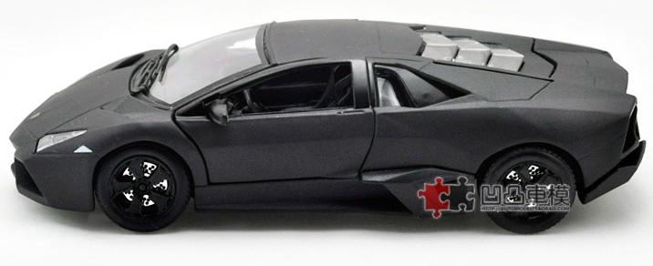 โมเดลรถ โมเดลรถเหล็ก โมเดลรถยนต์ lamborghini reventon black 5