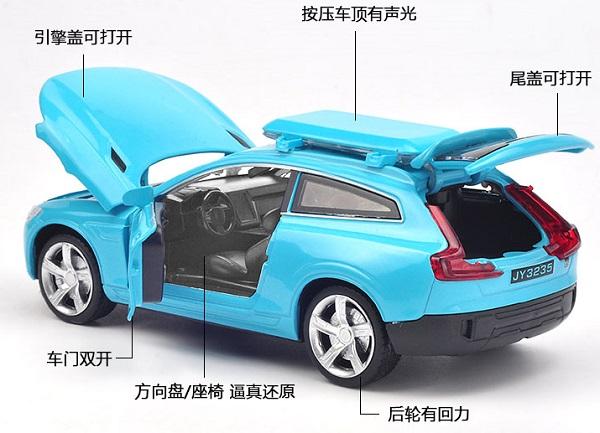โมเดลรถเหล็ก โมเดลรถยนต์ Volvo XC 3