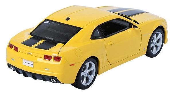 โมเดลรถ โมเดลรถเหล็ก โมเดลรถยนต์ chevrolet camaro yellow 2