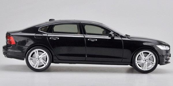 โมเดลรถ โมเดลรถเหล็ก โมเดลรถยนต์ Volvo S90 black 3