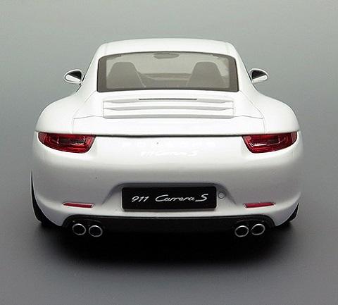 โมเดลรถ โมเดลรถยนต์ โมเดลรถเหล็ก porsche 911 carrera s white 6