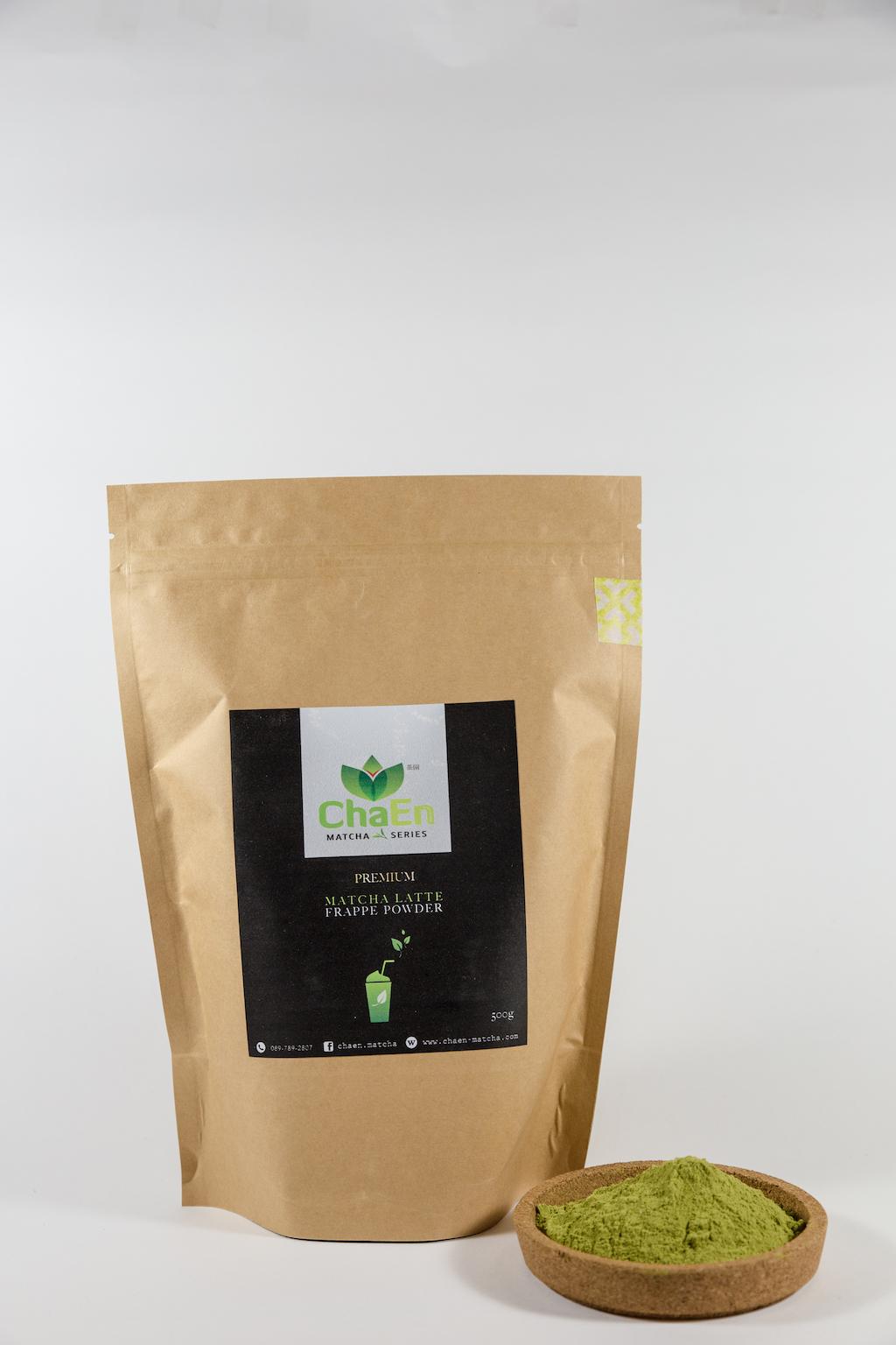 Premium Matcha Latte Frappe Powder (500g)