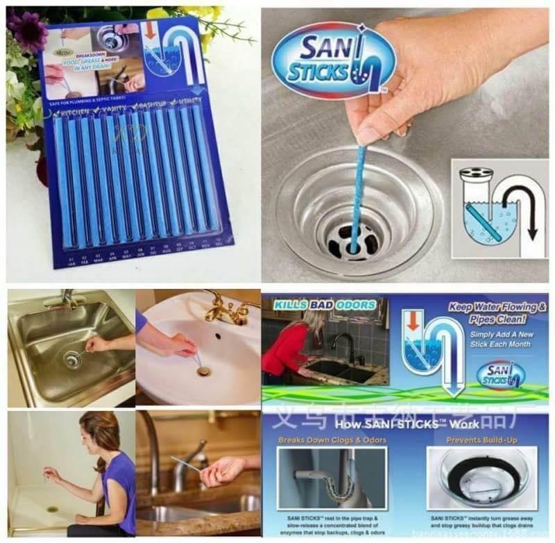แท่งทำความสะอาดแก้ท้อน้ำตัน รับรองราคาถูกสุดๆคะ ใช้ดีมากๆๆ กลิ่นท่อ กลิ่นห้องน้ำหอมเลยจ้า