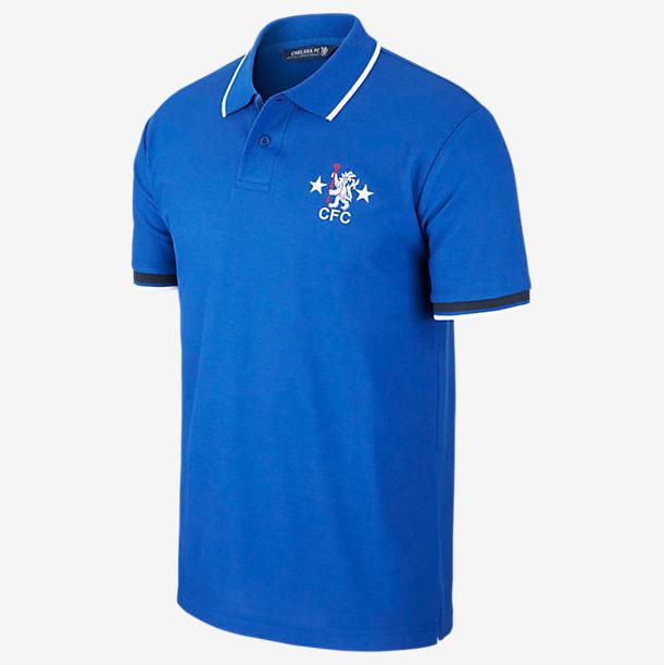 เสื้อโปโลเชลซี Chelsea FC Retro Men's Polo ของแท้