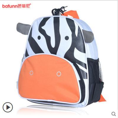 (ม้าลาย) กระเป๋าเป้งาน zoo pack พิเศษรุ่นซิปเป็นรูปสัตว์ตามแบบกระเป๋าค่ะ