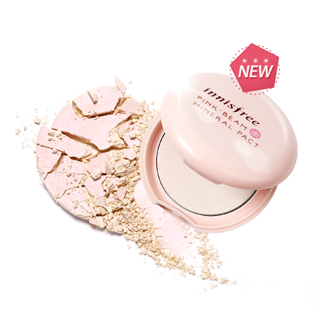 INNISFREE PINK BEAM MINERAL PACT