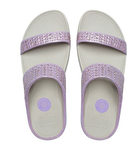 (พรีออเดอร์) FITFLOP NOVY™ SUEDE SLIDE SANDALS