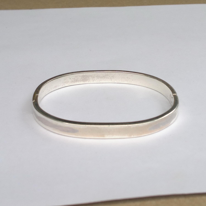 กำไลเงินเกลี้ยง silver bracelet 4