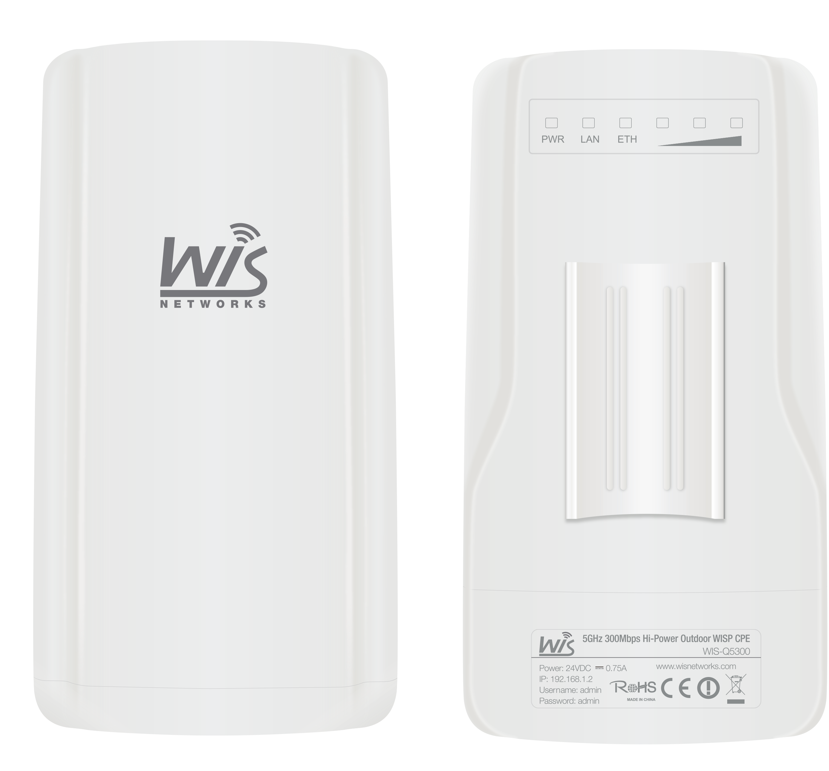 Access Point Outdoor WIS (Q5300) Wireless N300