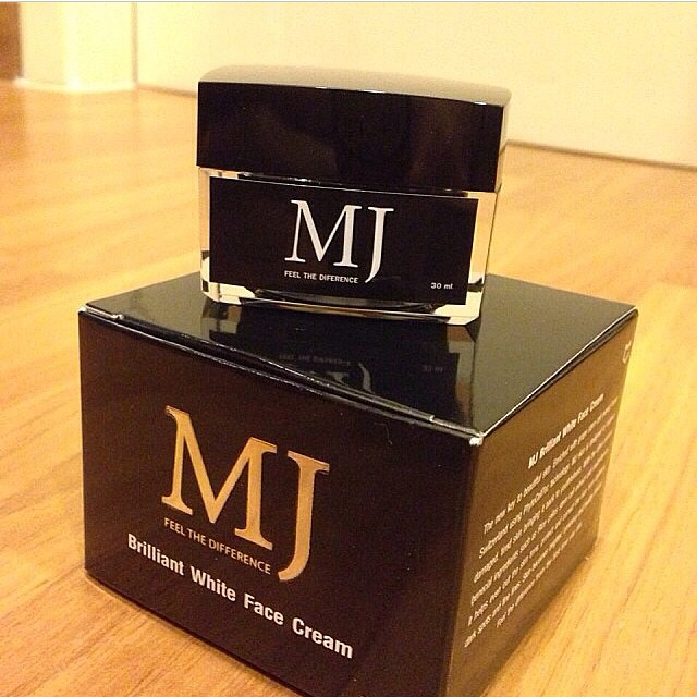 MJ Brilliant White Face Cream ครีมลดฝ้า กระ จุดด่างดำ(โทรสอบถามราคาพิเศษ ปลีก-ส่งได้ครับ)