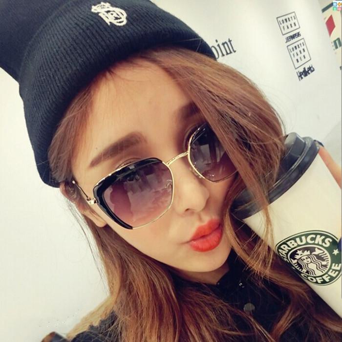 แว่นตากันแดดแฟชั่นเกาหลี สุดไฮโซ