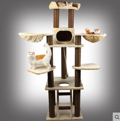 คอนโดแมว ต้นไม้แมว modern life for pets สูง 125 cm