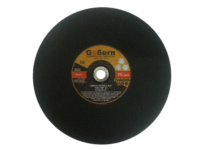 แผ่นตัดไฟเบอร์ 16 นิ้ว (ใบตัดไฟเบอร์) GoBern