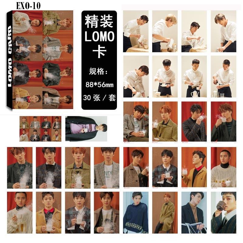 LOMO CARD EXO Universe 30รูป