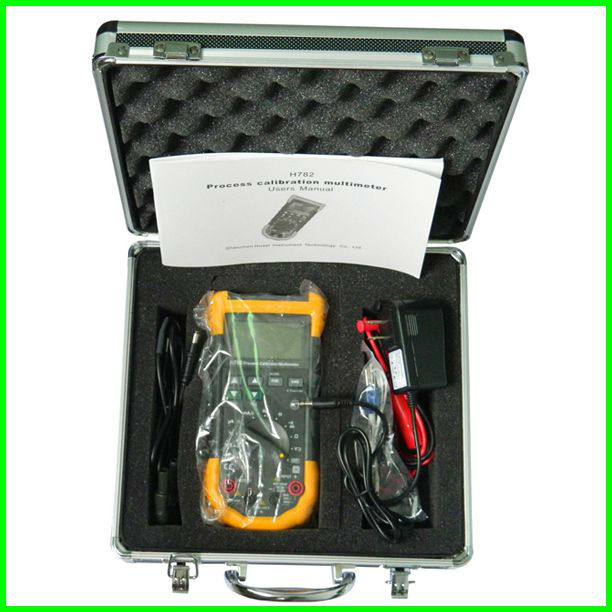 Signal Calibrator (เครื่องมือสอบเทียบสัญญาณไฟฟ้า) รุ่น H782 dual display Volt/mA/Freq.