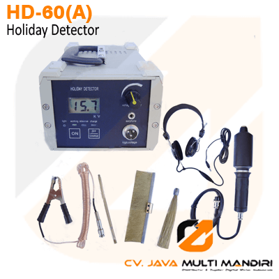 เครื่องตรวจสอบรอยร้าวผิวเคลือบ เครื่องตรวจงานเคลือบสี Holiday Detector รุ่น DJ-6A Spark Leak Detector w/CE