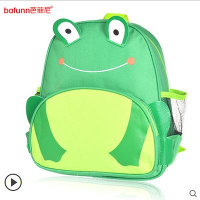 กระเป๋าเป้ zoo pack ยี่ห้อ bafunn ลายกบ