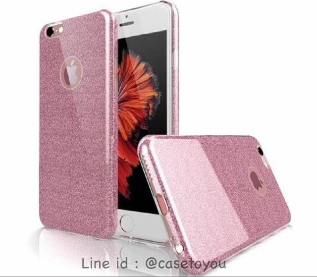 เคส Luxury Glitter Pink iPhone 5/5S/SE