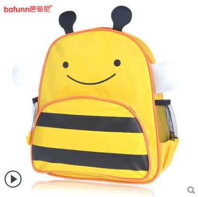 กระเป๋าเป้ zoo pack ยี่ห้อ bafunn ลายผึ้ง