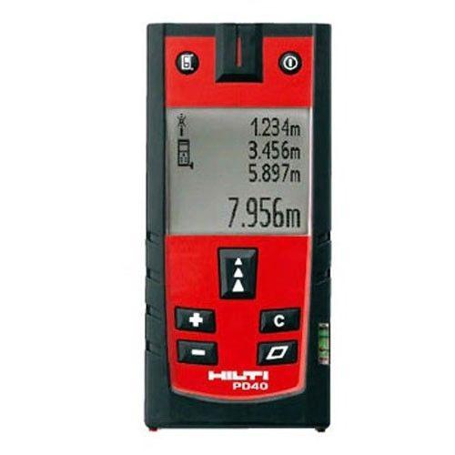 เครื่องมือวัดระยะ (Distance meter) รุ่น HILTI PD40 วัดได้ 200 m จาก USA มีรุ่นอื่นทดแทน