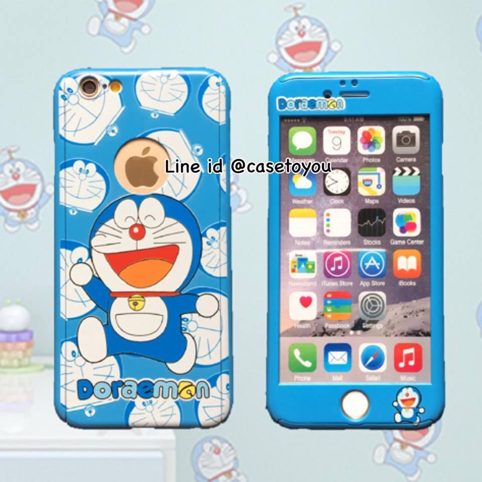 เคสประกบ 360 องศา Doraemon (B) iPhone 6/6S