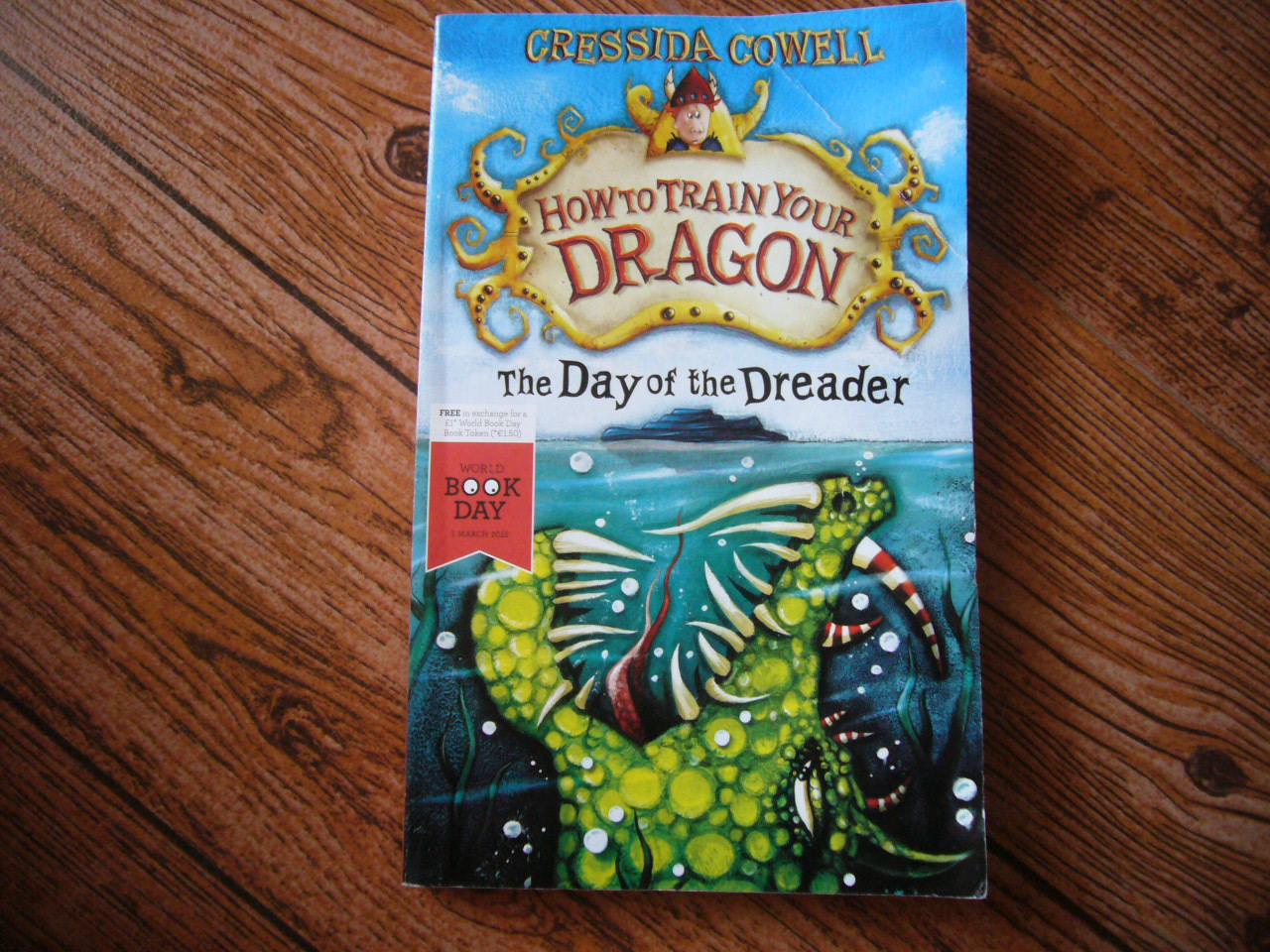 How to Train Your Dragon: The Day of the Dreader (ปก World Book Day)