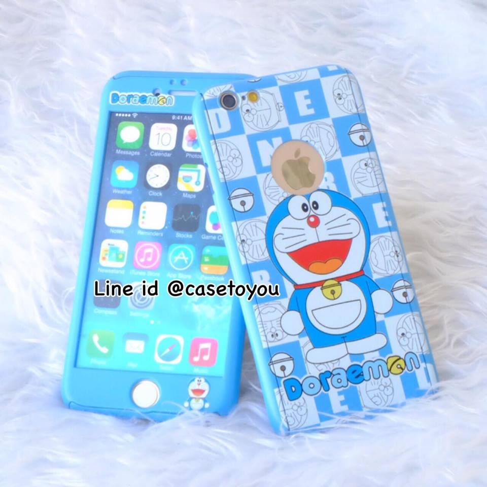 เคสประกบ 360 องศา Doraemon (B) iPhone 7