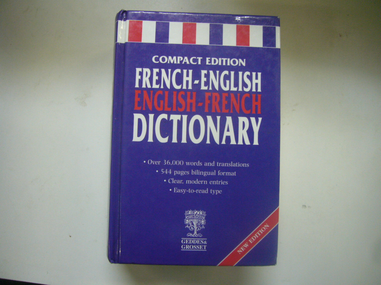 French-English English-French Dictionary (Compact Edition)