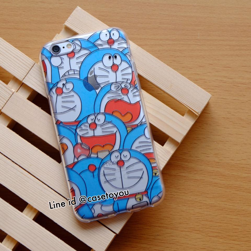 TPU Jelly Doraemon iPhone 5/5S/SE
