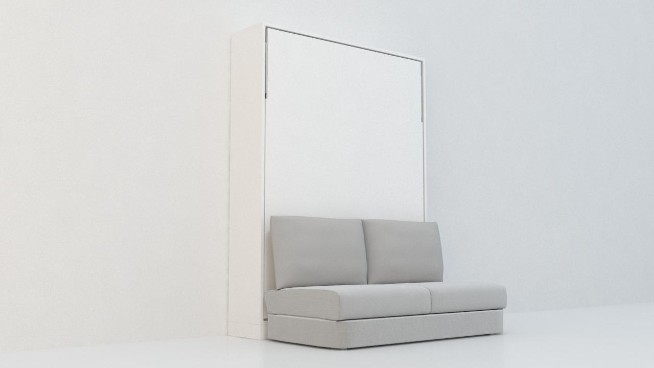 เตียงพับ 6' รุ่นอินสปาย Sofa ผ้า (พร้อมที่นอน แบรนด์ sealy)