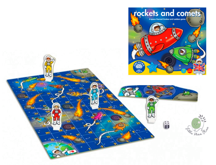 (Orchard Toys) Rockets and Comets