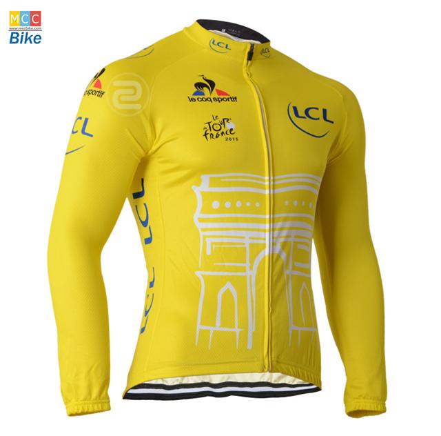 เสื้อปั่นจักรยาน แขนยาว Tour de france พร้อมส่ง
