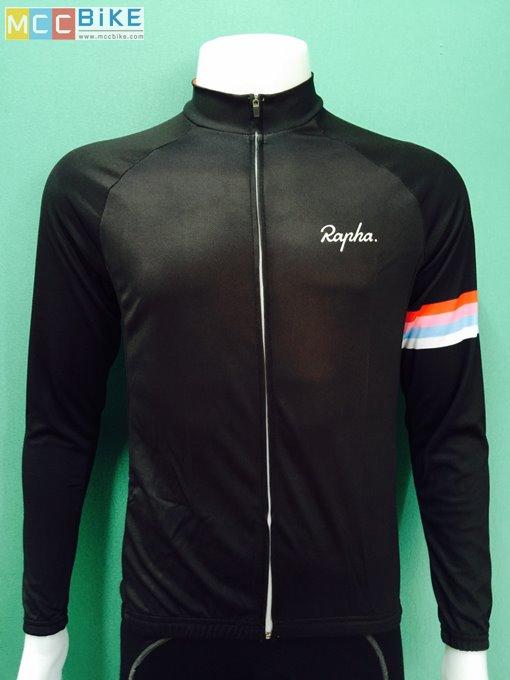 เสื้อปั่นจักรยาน แขนยาว rapha 005