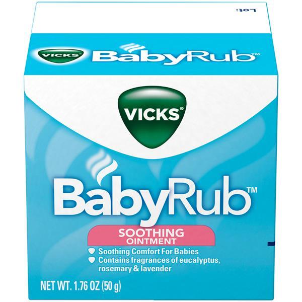 Baby Rub Vicks