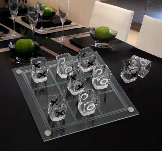 เกมส์ OX แก้วช็อต ของเล่นในวงเหล้า