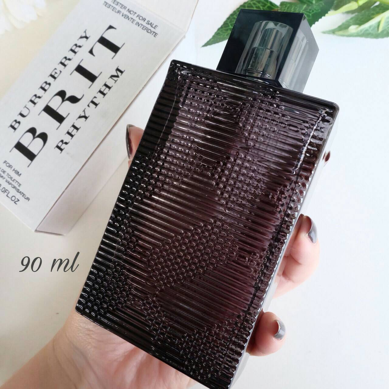 Burberry Brit Rhythm For Him Perfume Counter brand แท้ ตัว Tester น้ำหอม Tester 90 ML
