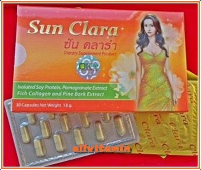 Sunclara ซันคาร่า 30 เม็ด