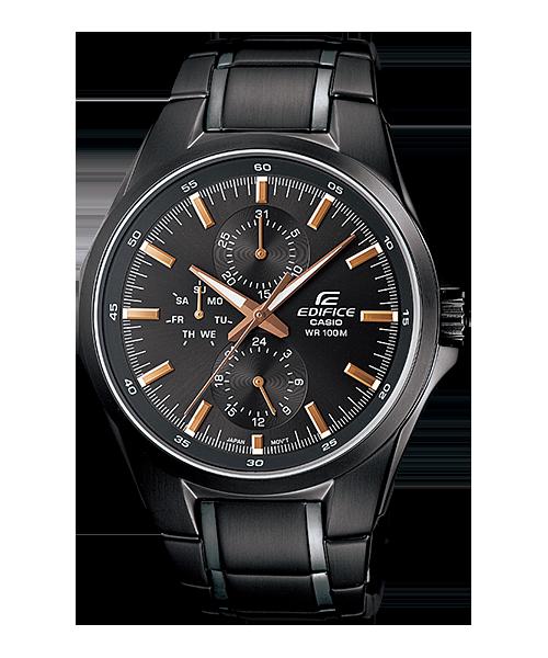 นาฬิกาข้อมือ CASIO EDIFICE MULTI-HAND รุ่น EF-339BK-1A9V