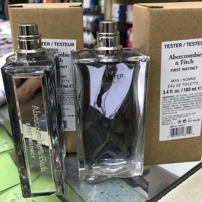 Albercombie & Fitch Man EAU perfume Counter brand แท้ ตัว Tester น้ำหอม Tester 100 ML
