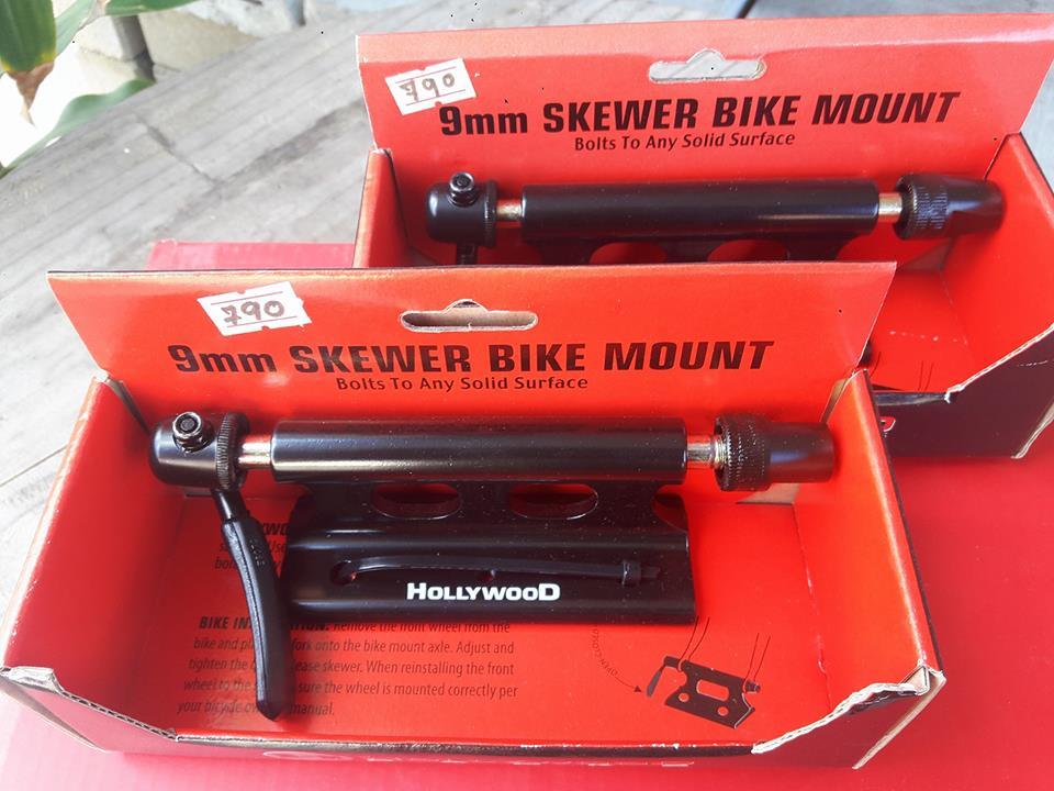 แร็คแปลงติดกระบะ สำหรับขนย้ายจักรยาน Hollywwod