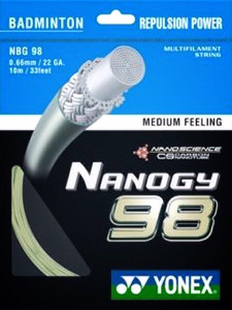 เอ็นแบดมินตัน YONEX NANOGY98