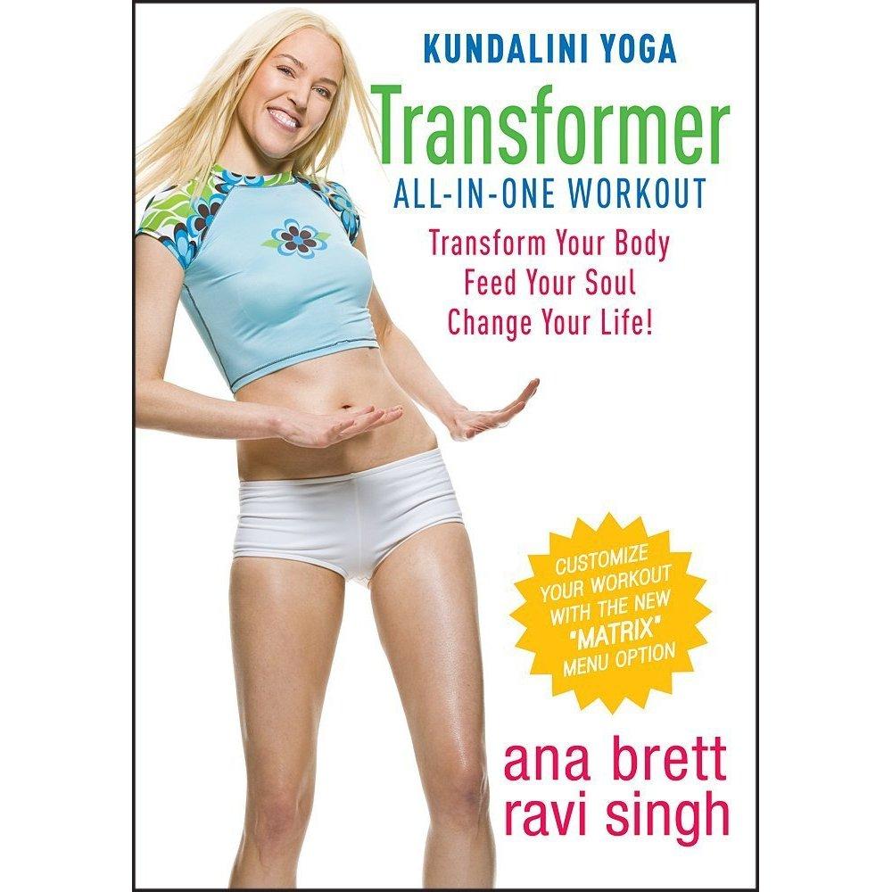 ดีวีดีออกกำลังกาย โยคะ ลดความอ้วน - Kundalini Yoga - Transform Your Body, Feed Your Soul Workout With Ana Brett