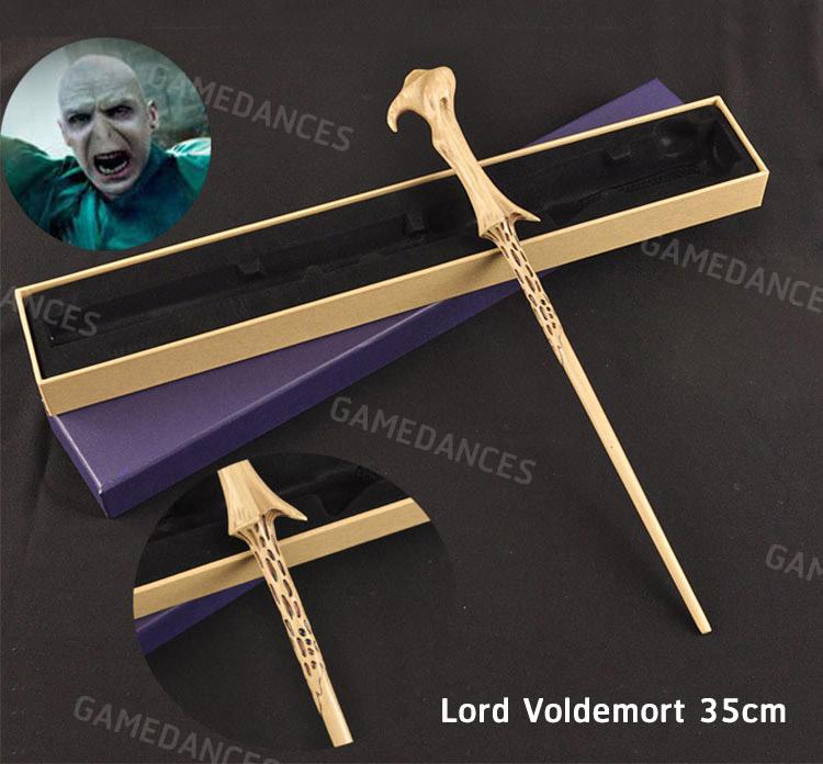 ไม้กายสิทธิ์ Harry Potter Magic wand เเบบแกนโลหะไม่มีไฟ