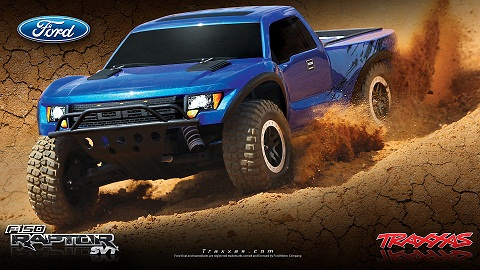 Aggressive Ford F-150 SVT Raptor Styling# 58064