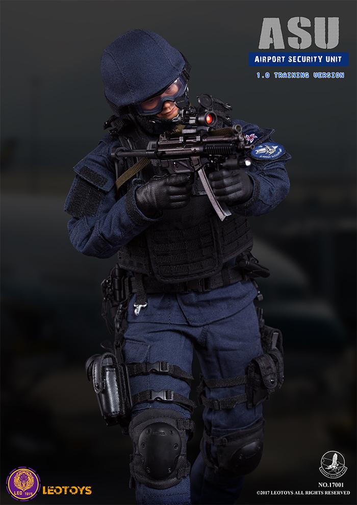 LEO Toys 17001 Airport Security Unit (ASU) 1.0 Training Version