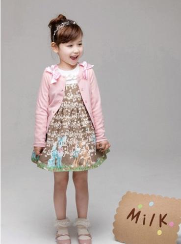 Pre-order ปลีก เสื้อคลุม / Size 9 /สีชมพู