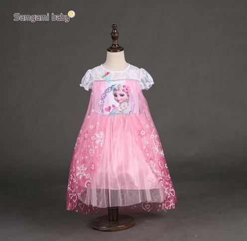 Pre-order ชุดเอลซ่า/ Size 140 / Pink