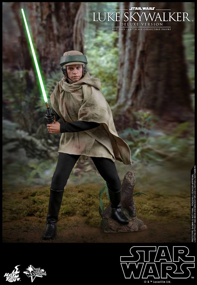 Deluxe Version MMS517 Hot Toys Star Wars Return of the Jedi 1//6 Luke Skywalker